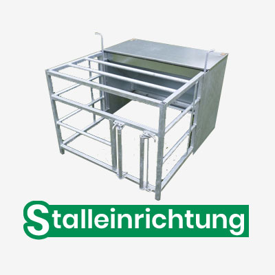 Stalleinrichtung Metall - Banner2