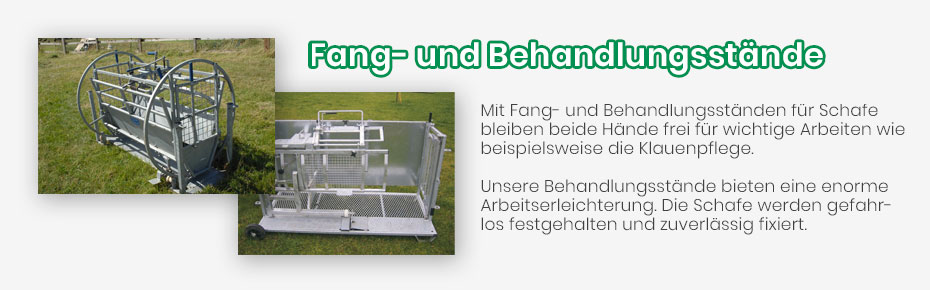 Fang- und Behandlungsstaende - Banner4
