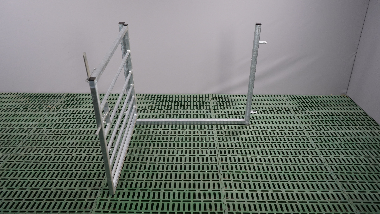 Tor mit Rahmen 1,00 x 0,9 m
