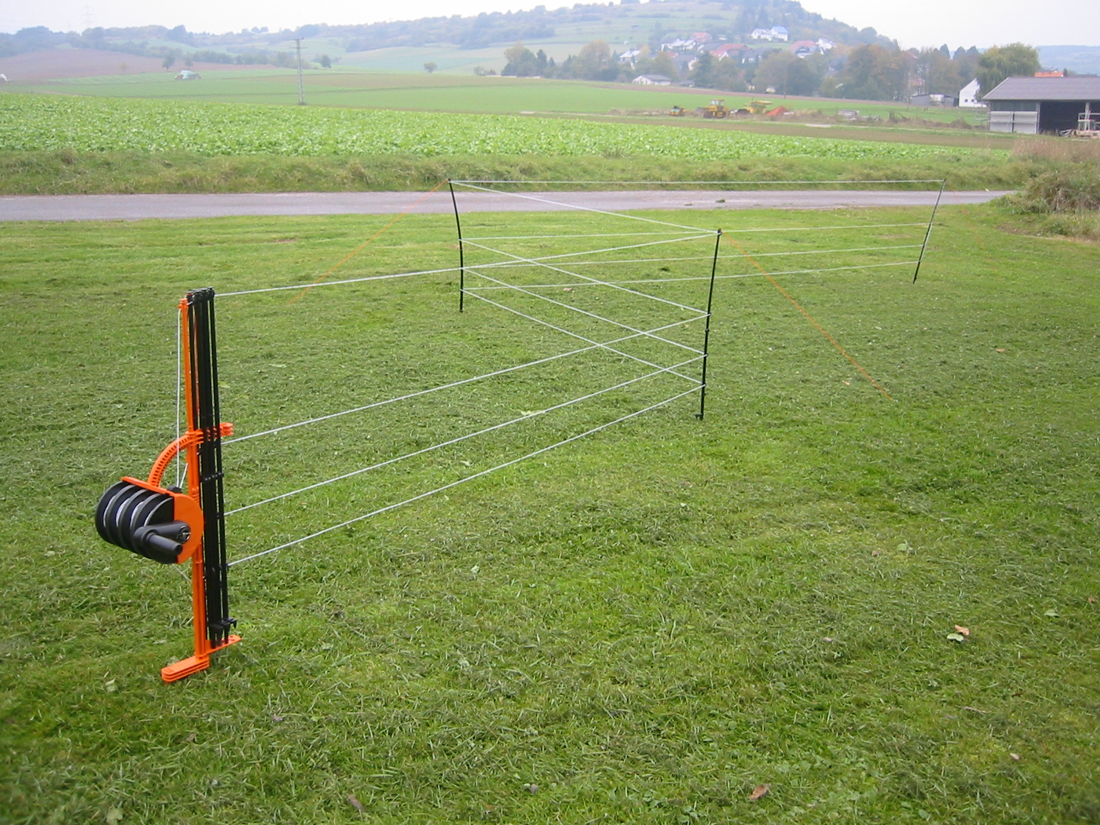 Smart Fence 2.0 Mobilzaun mit 4 Litzen