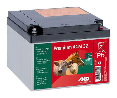 Premium AGM - Vlies - Batterie 32Ah
