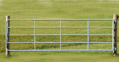 Weidetor verstellbar 5 - 6m