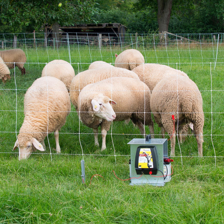 Turbomax high energy plus earth Netz für Schafe - 105cm hoch mit Doppelspitze