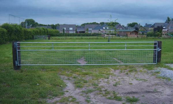 Weidetor mit Beschlag Länge 3,0 m, Höhe 1 m