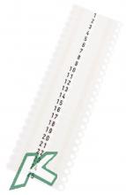 OhrmarkenTwintag Nr.001-50 weiß  (je 50 Stück)