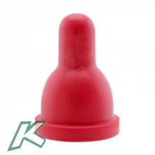 Ersatzsauger für Flaschen 1.000 / 500 ml, rot