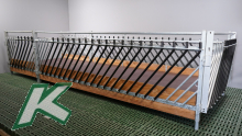Futtertischgang 2,50-Meter-Element