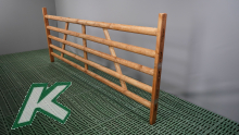 Wooden hurdle with 5 laths, length 3.00 mtr.