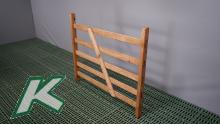 10-er Paket Holzhürde mit 5 Latten Länge 1,33 m