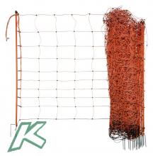 Köhler Easy-Schafnetz 90cm 2 Spitzen 50m  (1 Stück)