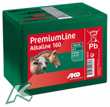 Alkaline 9 Volt Trockenbatterie 160Ah