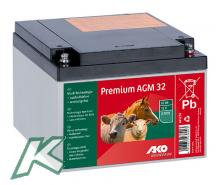 Premium AGM - fleece - Battery 32Ah