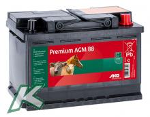 Premium AGM - Vließ - Batterie 88Ah