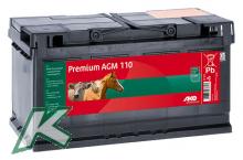Premium AGM - Vließ - Batterie 110Ah