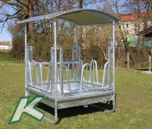 Viereck-/Rundballenraufe 1,50/1,50m