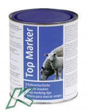 Schafzeichenfarbe TopMarker blau 1kg