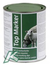 Schafzeichenfarbe TopMarker grün 1kg