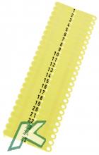 OhrmarkenTwintag Nr.101-150 gelb  (je 50 Stück)