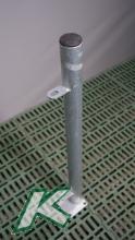 Pfosten Futtertischhorde außen 60 mm zum Aufdübeln