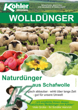 Flyer Wolldünger